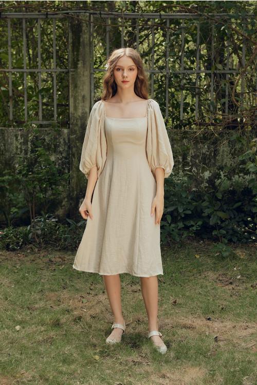 Đầm Linen 7 Mảnh